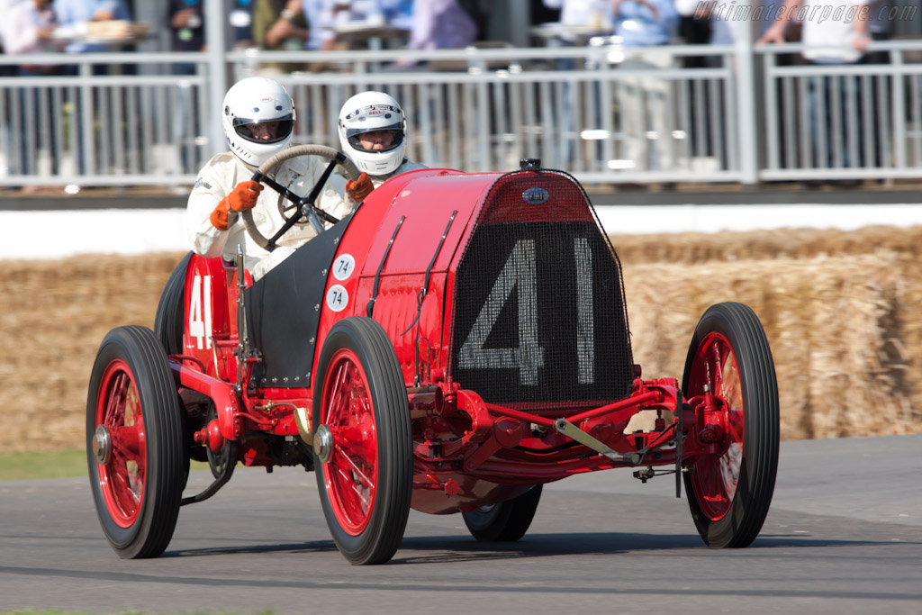 Fiat S74 Grand Prix - Chassis: 1 - Driver: George Wingard  - 2011 Goodwood Festival of Speed