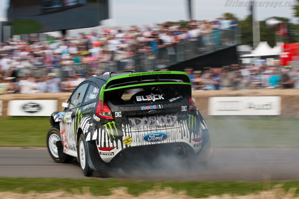 Ford Fiesta RS WRC - 2011 Goodwood Festival of Speed