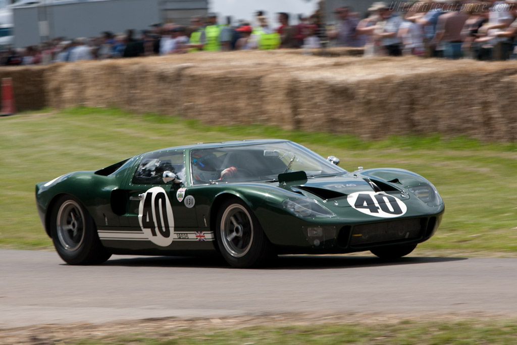 Ford GT40 - Chassis: GT40P/1009   - 2011 Goodwood Festival of Speed