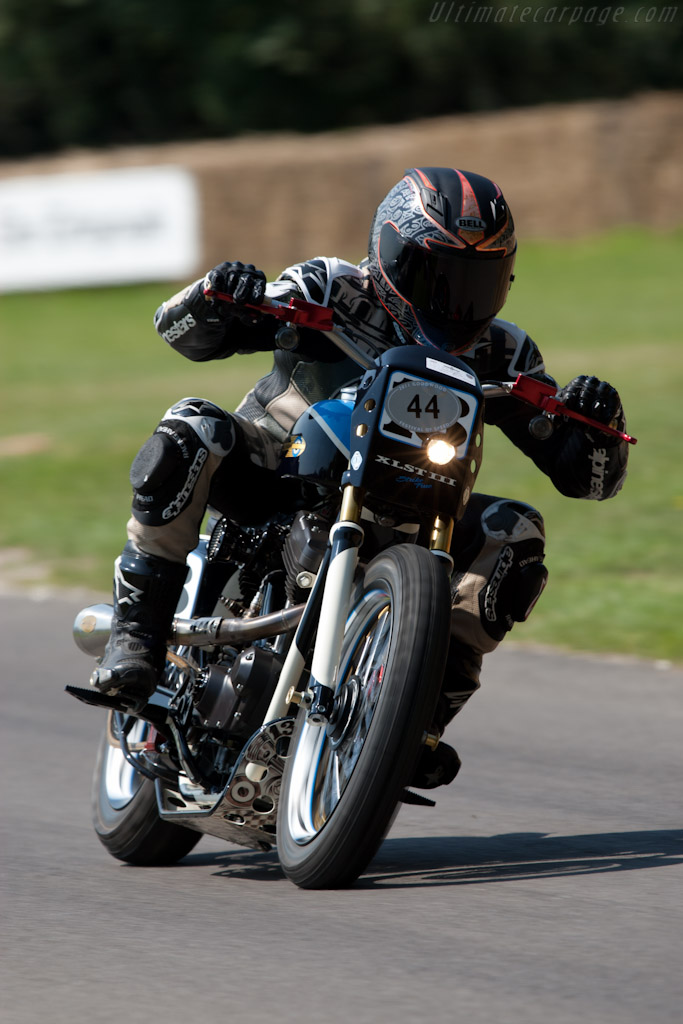 Harley-Davidson XLST3   - 2011 Goodwood Festival of Speed