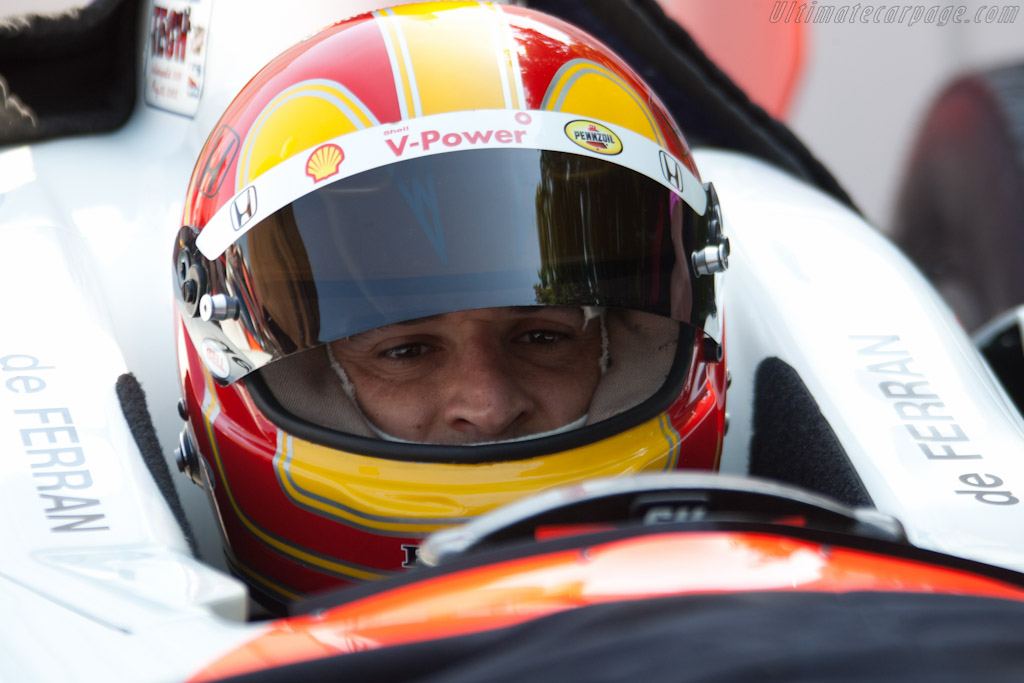 Helio Castroneves    - 2011 Goodwood Festival of Speed