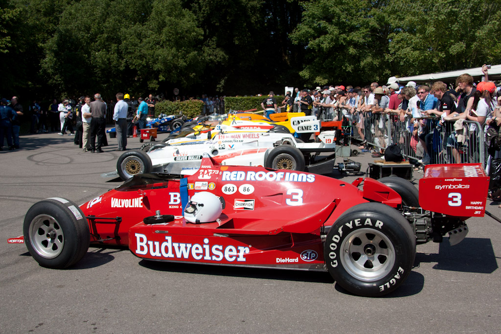 Indy 500 racers   - 2011 Goodwood Festival of Speed