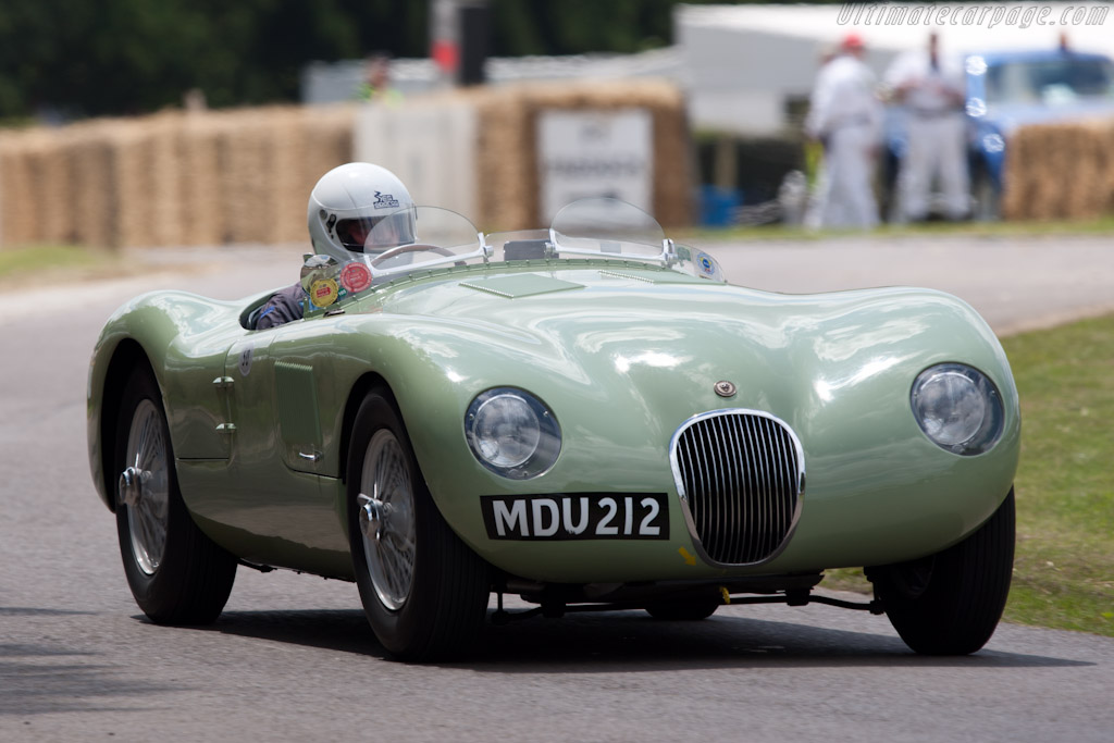 Jaguar C-Type    - 2011 Goodwood Festival of Speed