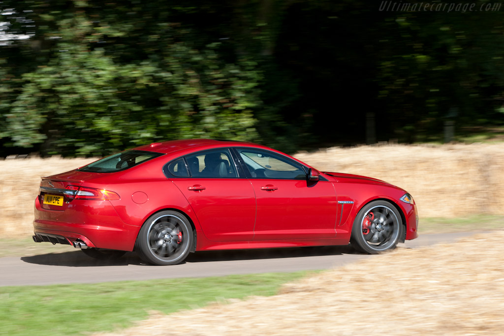 Jaguar XFR    - 2011 Goodwood Festival of Speed