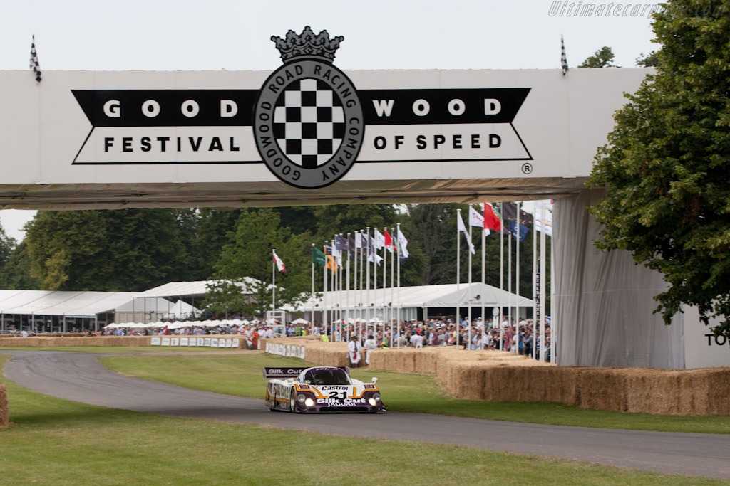 Jaguar XJR-9 - Chassis: J12-C-188   - 2011 Goodwood Festival of Speed