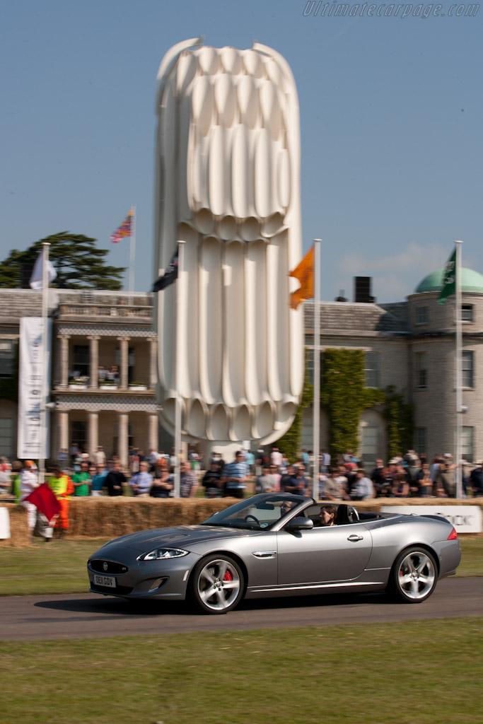 Jaguar XKR    - 2011 Goodwood Festival of Speed
