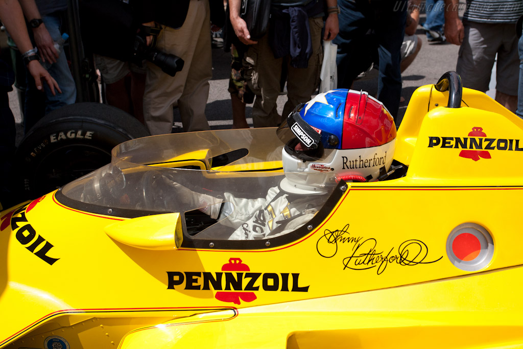 Johnny Rutherford    - 2011 Goodwood Festival of Speed