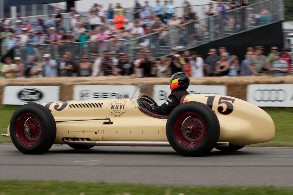 Kurtis Novi V8 Governor Special    - 2011 Goodwood Festival of Speed