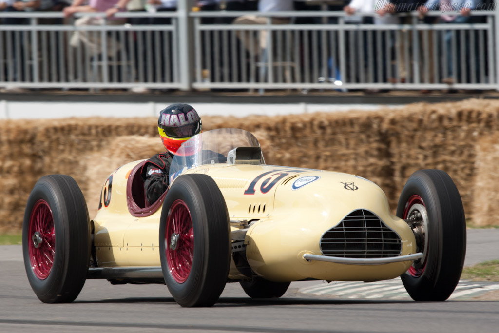 Kurtis Novi V8 Governor Special    - 2011 Goodwood Festival of Speed