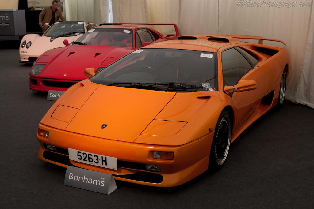 Lamborghini Diablo SV Coupe - Chassis: ZA9DE21A0WLA12851  - 2011 Goodwood Festival of Speed