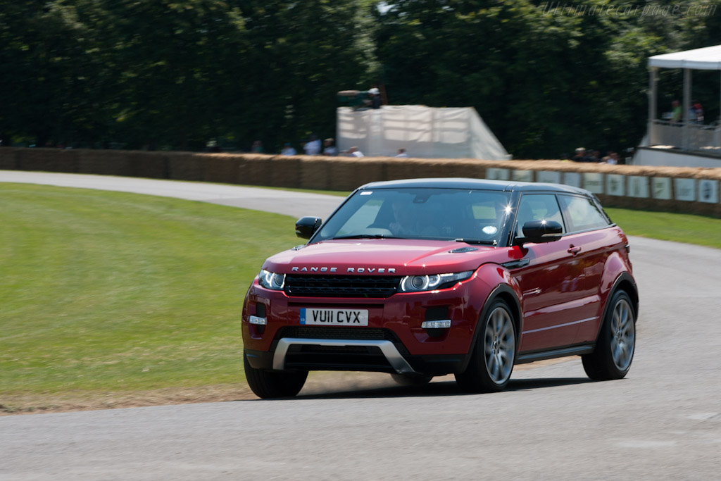 2018 Land Rover Range Rover Evoque >> Land Rover Evoque - 2011 Goodwood Festival of Speed