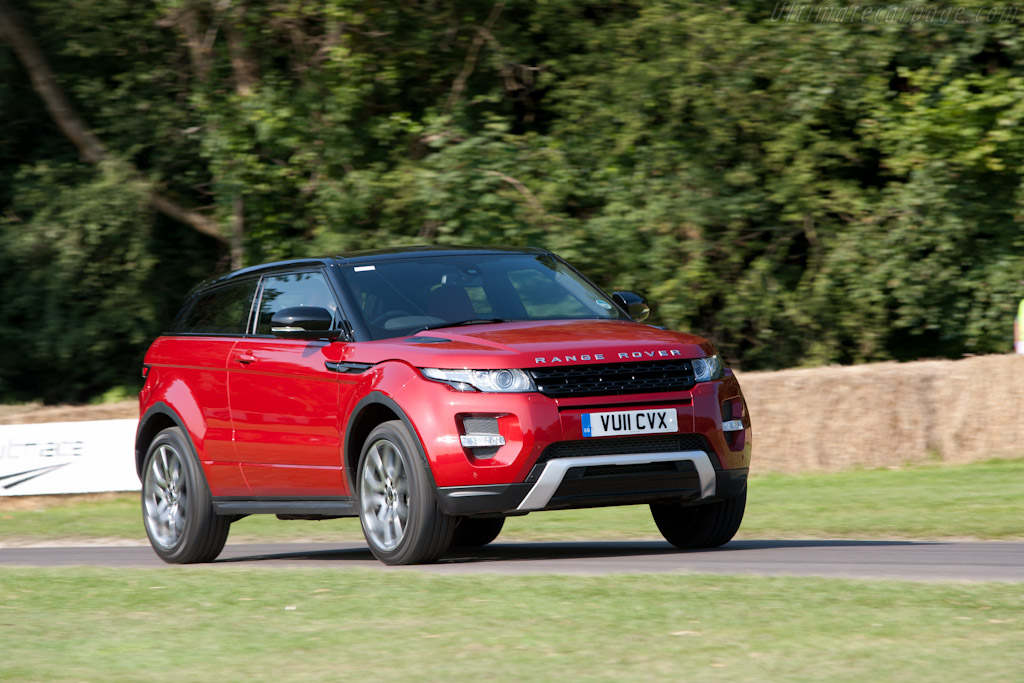 Land Rover Evoque    - 2011 Goodwood Festival of Speed