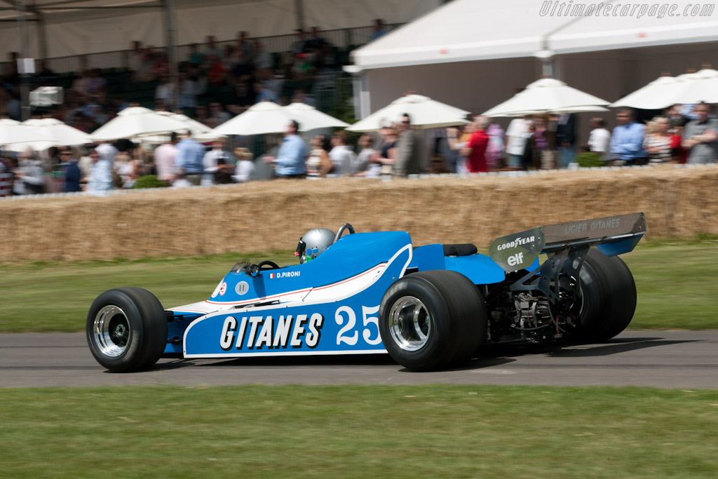 Ligier JS11/15 Cosworth - Chassis: JS11/04   - 2011 Goodwood Festival of Speed