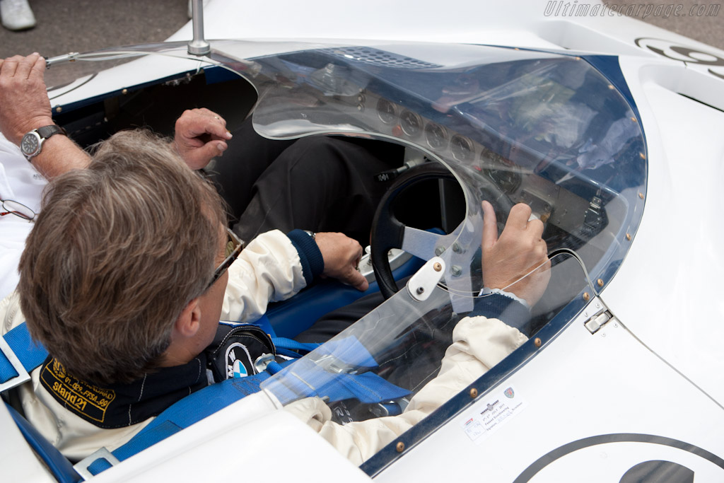 Lord March in the 2E   - 2011 Goodwood Festival of Speed