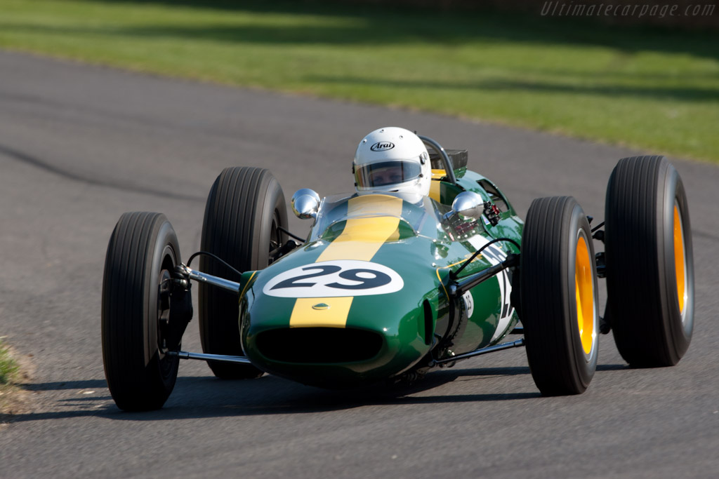 Lotus 25 Climax    - 2011 Goodwood Festival of Speed