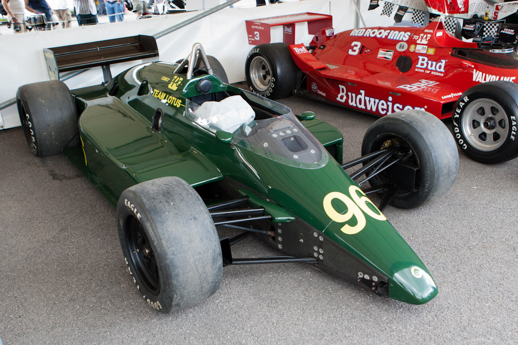 Lotus 96T Cosworth    - 2011 Goodwood Festival of Speed