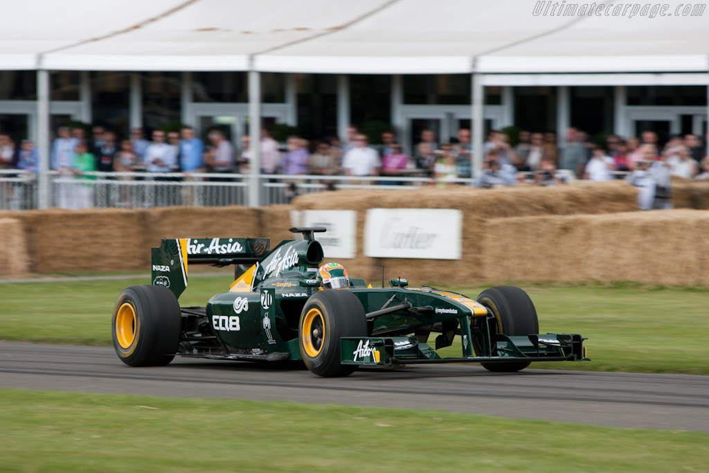 Lotus T127 Cosworth    - 2011 Goodwood Festival of Speed