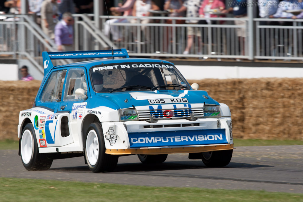 MG Metro 6R4    - 2011 Goodwood Festival of Speed