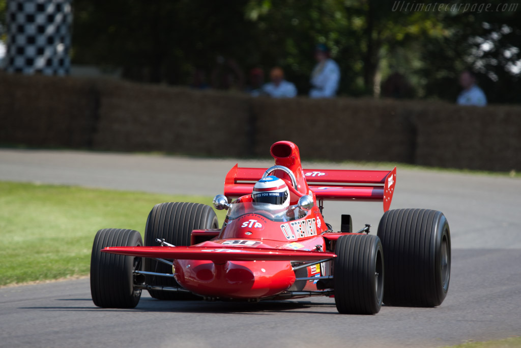 March 711 Cosworth - Chassis: 711-3 - Driver: Christian Horner  - 2011 Goodwood Festival of Speed