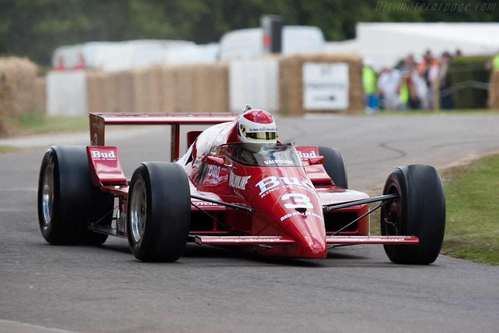 March 86C Cosworth - Chassis: 86C-13 - Driver: Bobby Rahal  - 2011 Goodwood Festival of Speed
