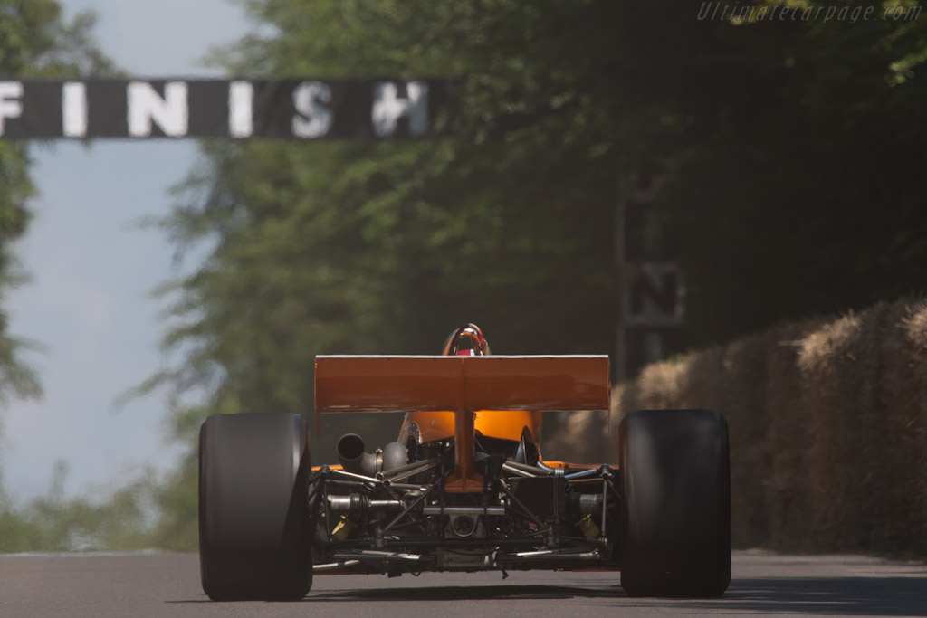 McLaren M16C/D Offenhauser - Chassis: M16C/5 - Driver: Johnny Rutherford  - 2011 Goodwood Festival of Speed