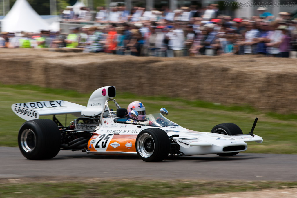 McLaren M19A Cosworth - Chassis: M19A-2   - 2011 Goodwood Festival of Speed