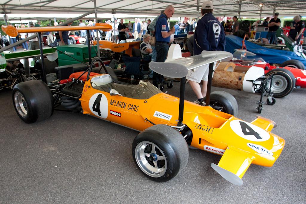 McLaren M7C Cosworth - Chassis: M7C/1   - 2011 Goodwood Festival of Speed