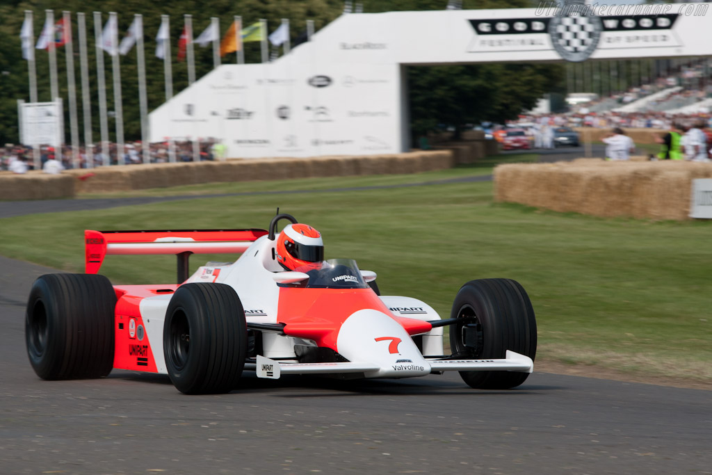 McLaren MP4/1 Cosworth - Chassis: MP4/1-1 - Entrant: McLaren International - Driver: Chris Goodwin  - 2011 Goodwood Festival of Speed