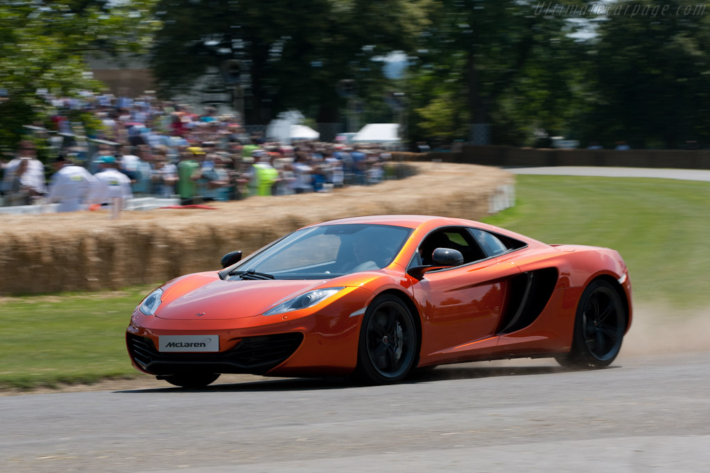 McLaren MP4-12C    - 2011 Goodwood Festival of Speed