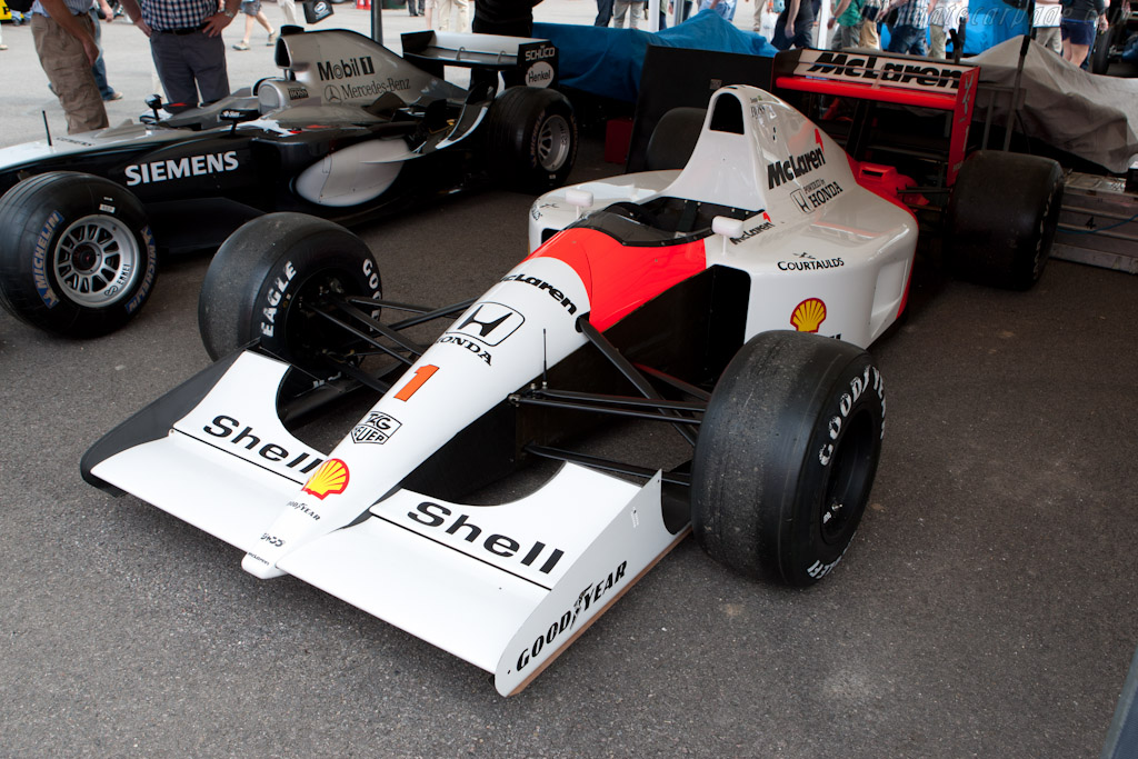 McLaren MP4/6 Honda - Chassis: MP4/6-10 - Entrant: McLaren International  - 2011 Goodwood Festival of Speed