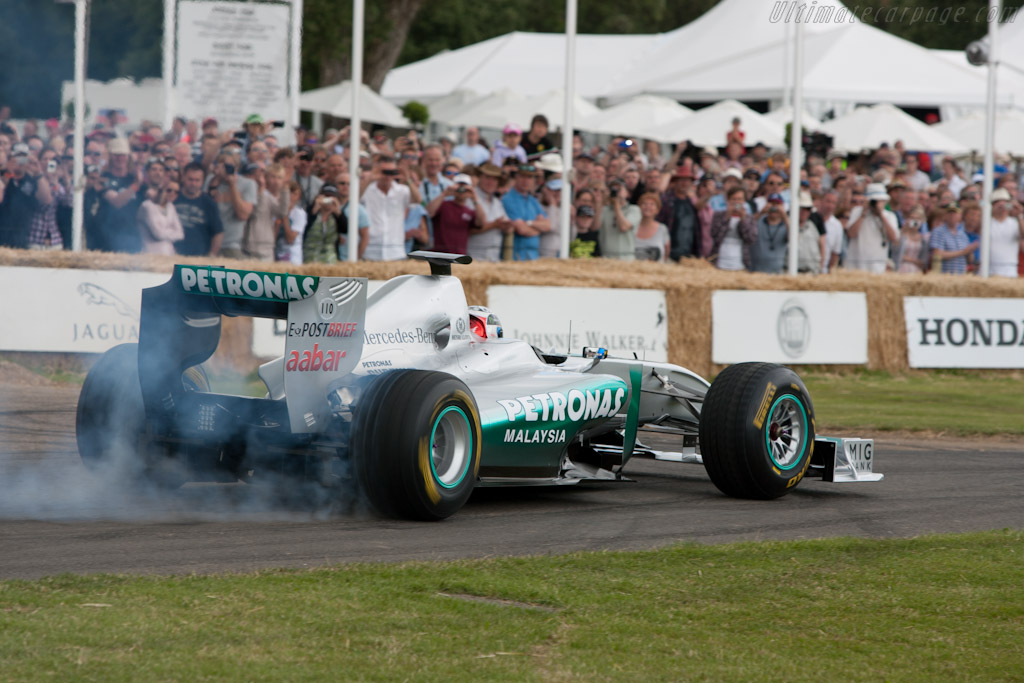 Mercedes-Benz W01    - 2011 Goodwood Festival of Speed