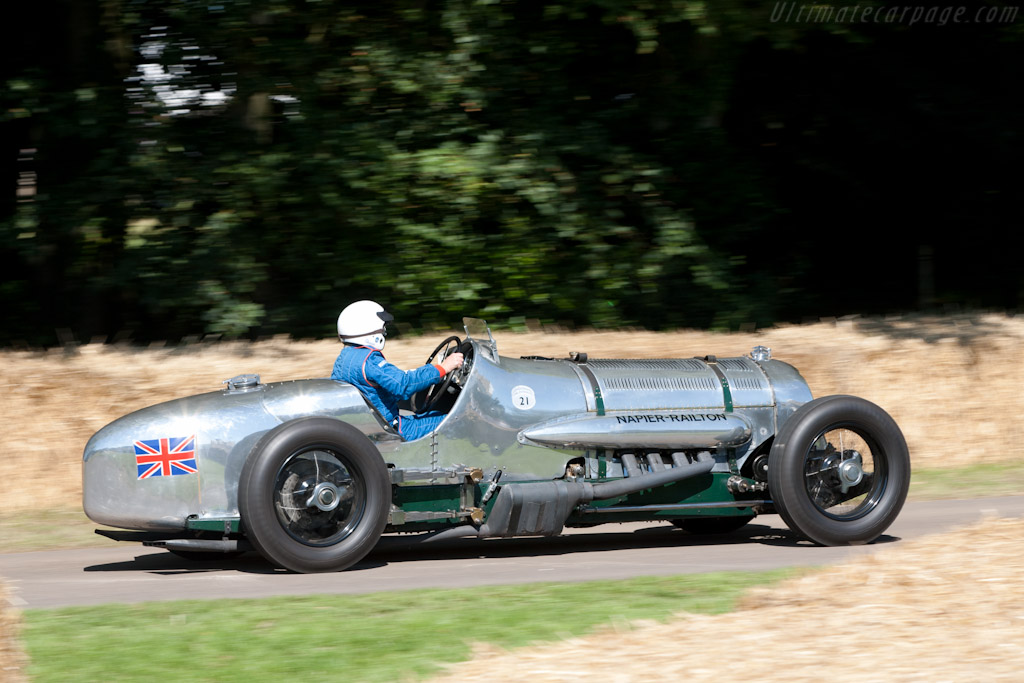 Napier Railton    - 2011 Goodwood Festival of Speed