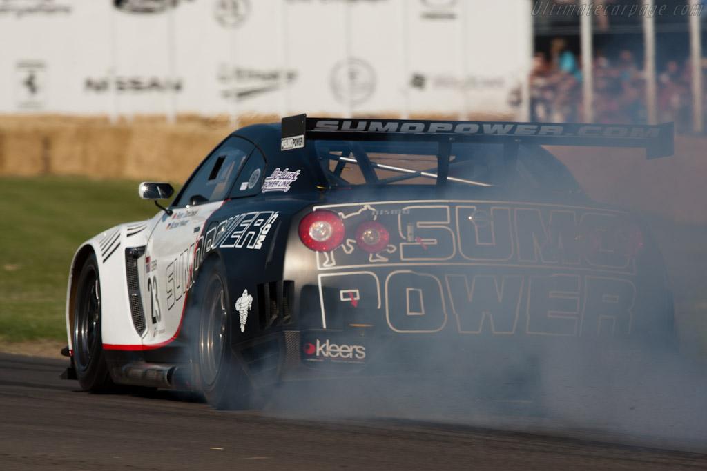 Nissan GT-R GT1    - 2011 Goodwood Festival of Speed