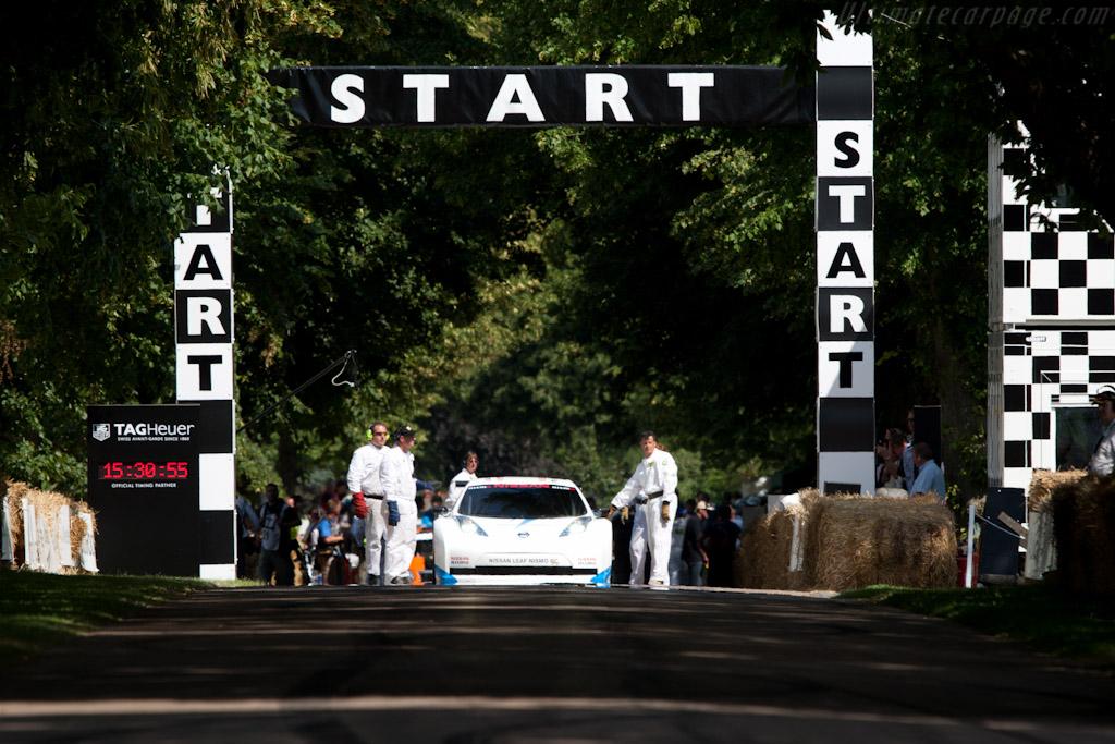 Nissan Leaf Nismo RC    - 2011 Goodwood Festival of Speed