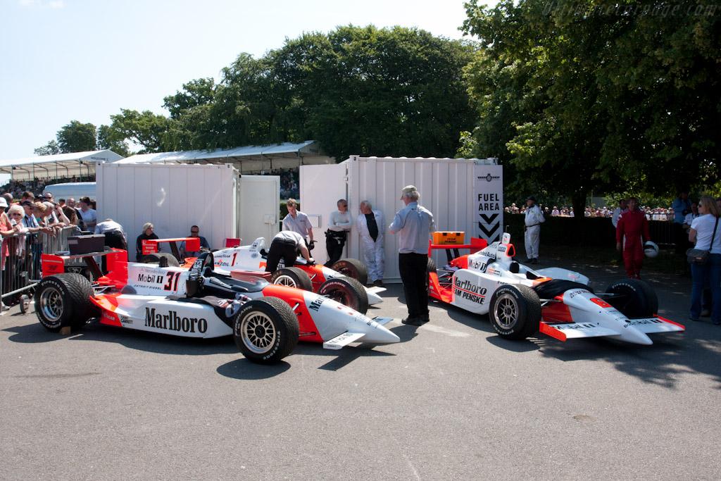 Penskes    - 2011 Goodwood Festival of Speed