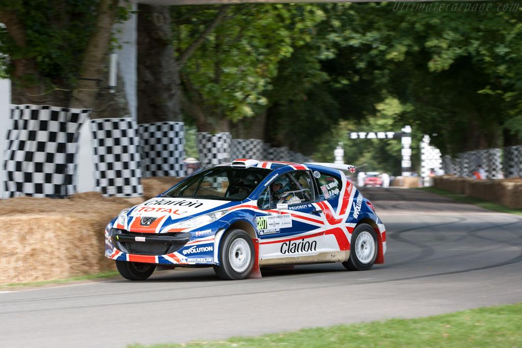 Peugeot 207 S2000    - 2011 Goodwood Festival of Speed