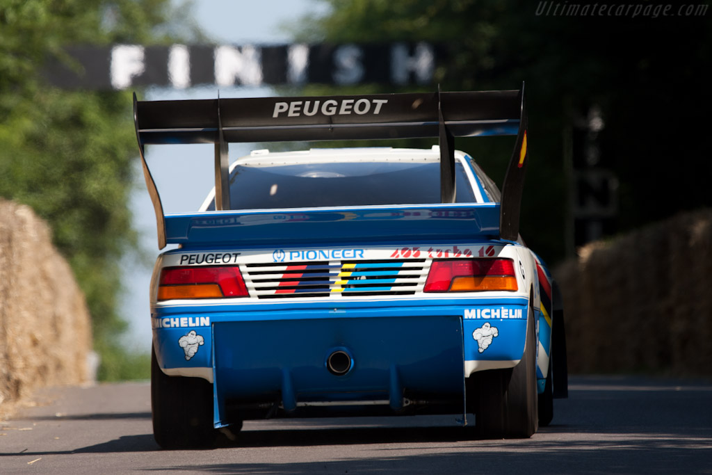 Peugeot 405 T16 GR 'Pikes Peak' - Chassis: 405003   - 2011 Goodwood Festival of Speed