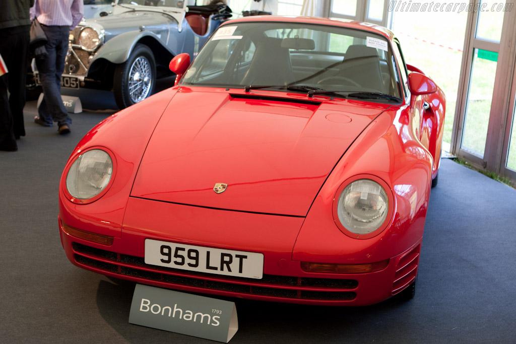 Porsche 959 - Chassis: WP0ZZZ95ZJS00222   - 2011 Goodwood Festival of Speed