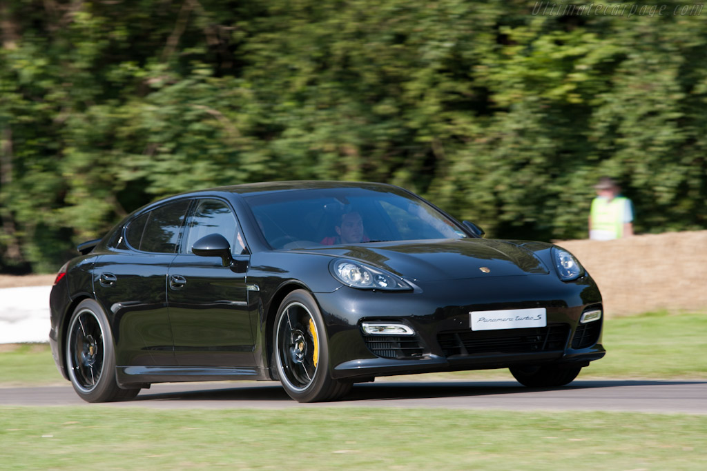 Porsche Panamera Turbo S    - 2011 Goodwood Festival of Speed