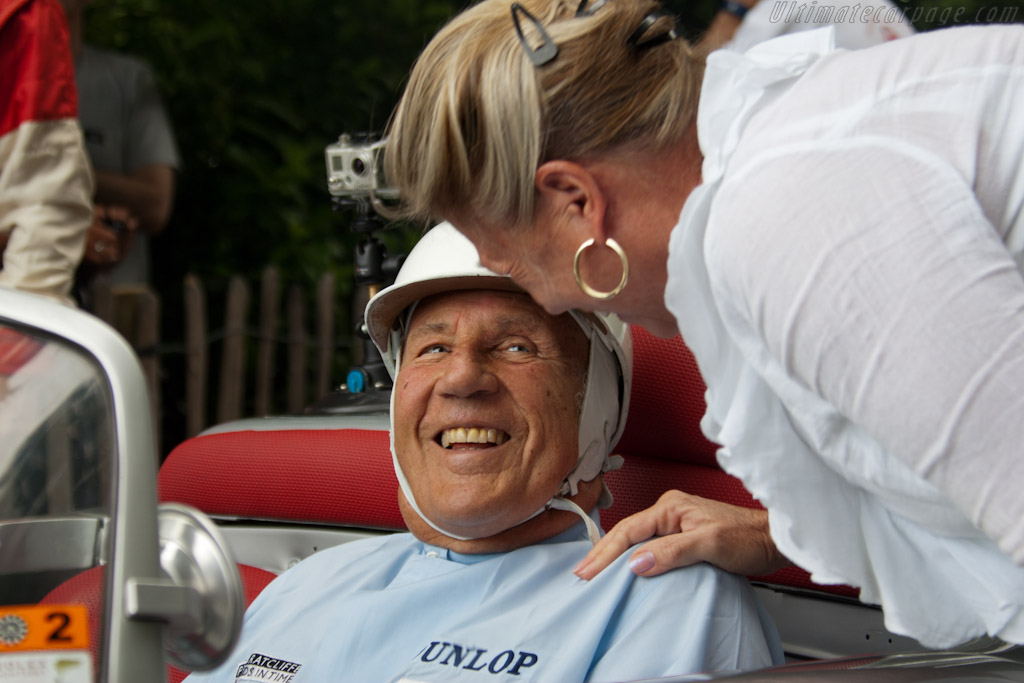 Sir Stirling and Lady Susie Moss   - 2011 Goodwood Festival of Speed