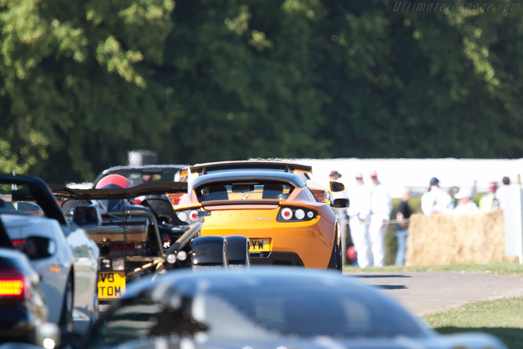 Tesla Roadster    - 2011 Goodwood Festival of Speed
