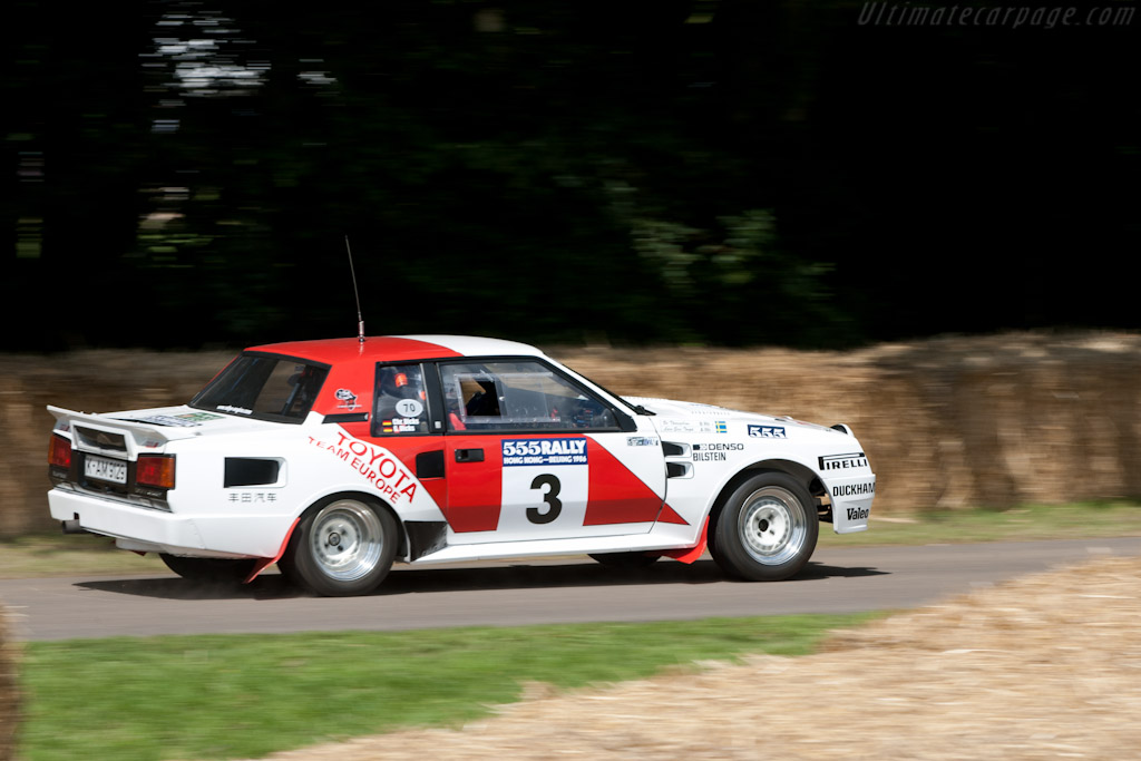 Toyota Celica Twin Cam Turbo    - 2011 Goodwood Festival of Speed