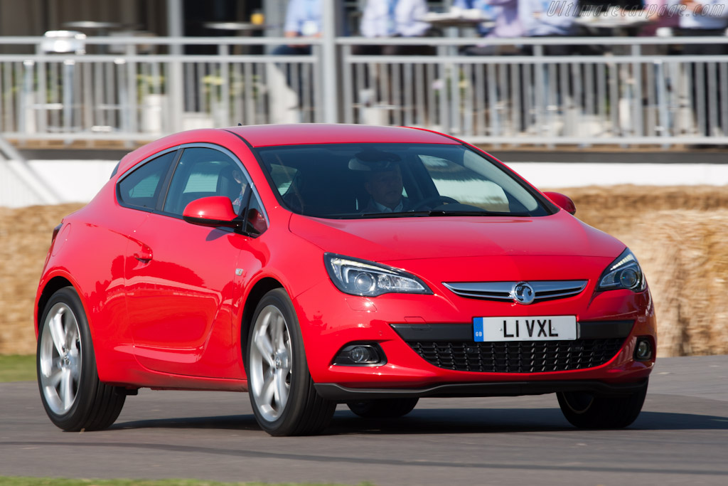 Vauxhall Astra GTC    - 2011 Goodwood Festival of Speed