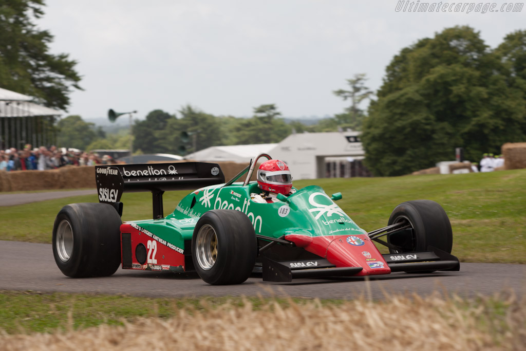 Alfa Romeo 183T - Chassis: 183T/2   - 2012 Goodwood Festival of Speed