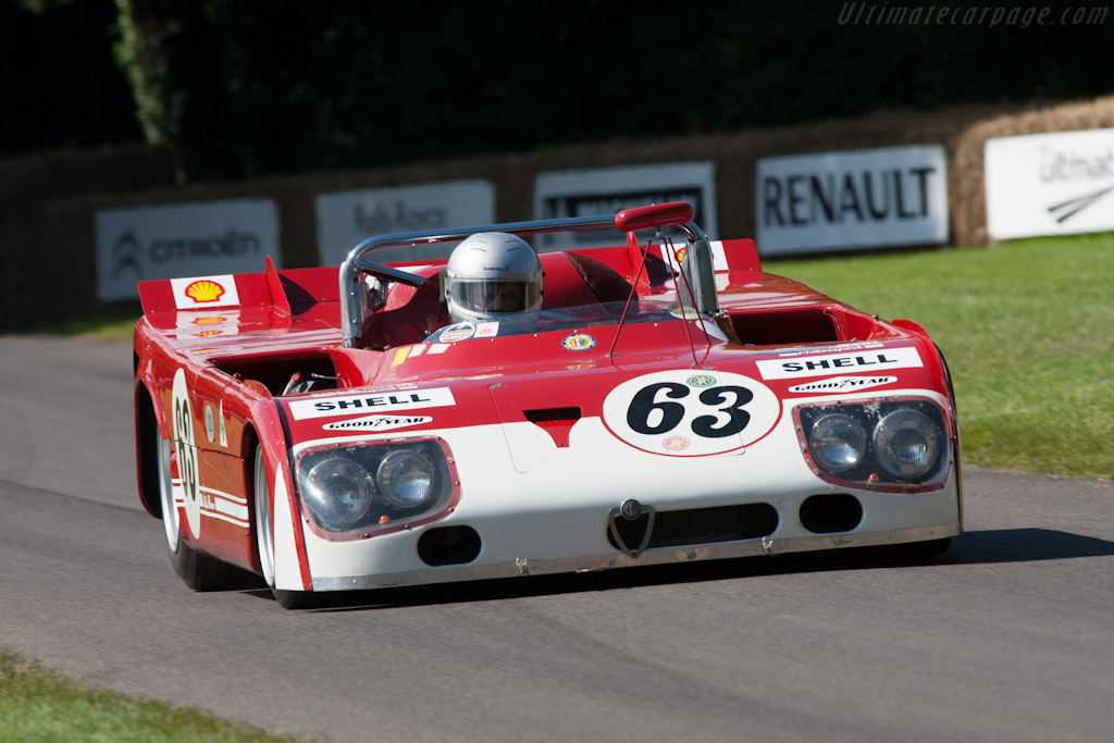 Alfa Romeo 33TT3 - Chassis: 11572-008   - 2012 Goodwood Festival of Speed