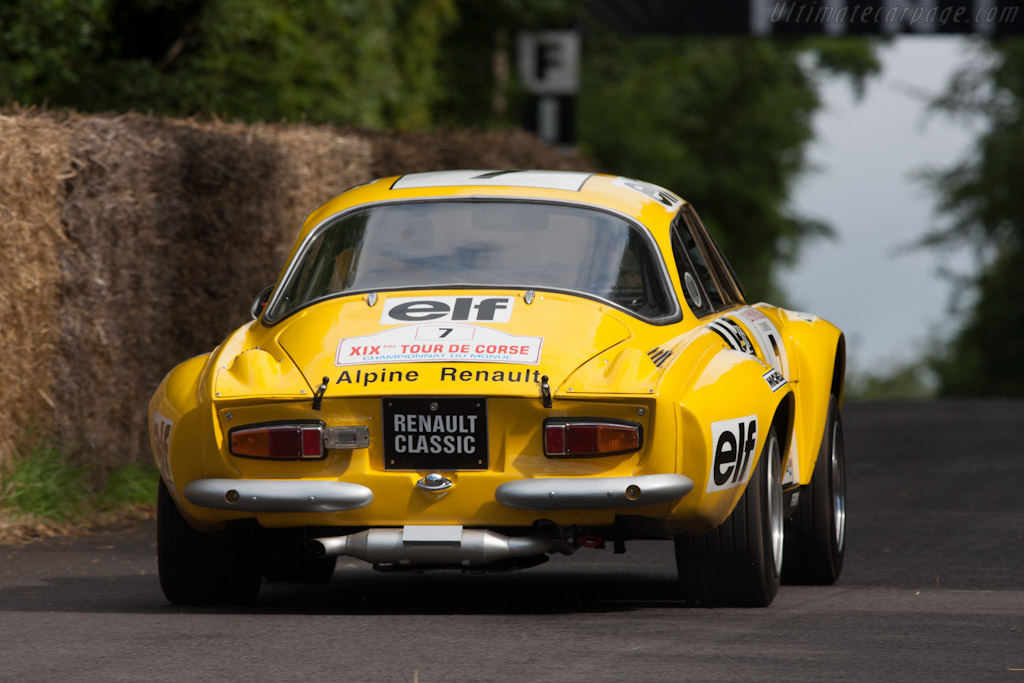 Alpine A110 1800 S    - 2012 Goodwood Festival of Speed