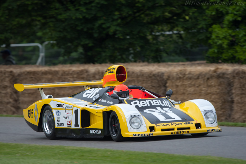 Alpine A443 - Chassis: 443/0   - 2012 Goodwood Festival of Speed