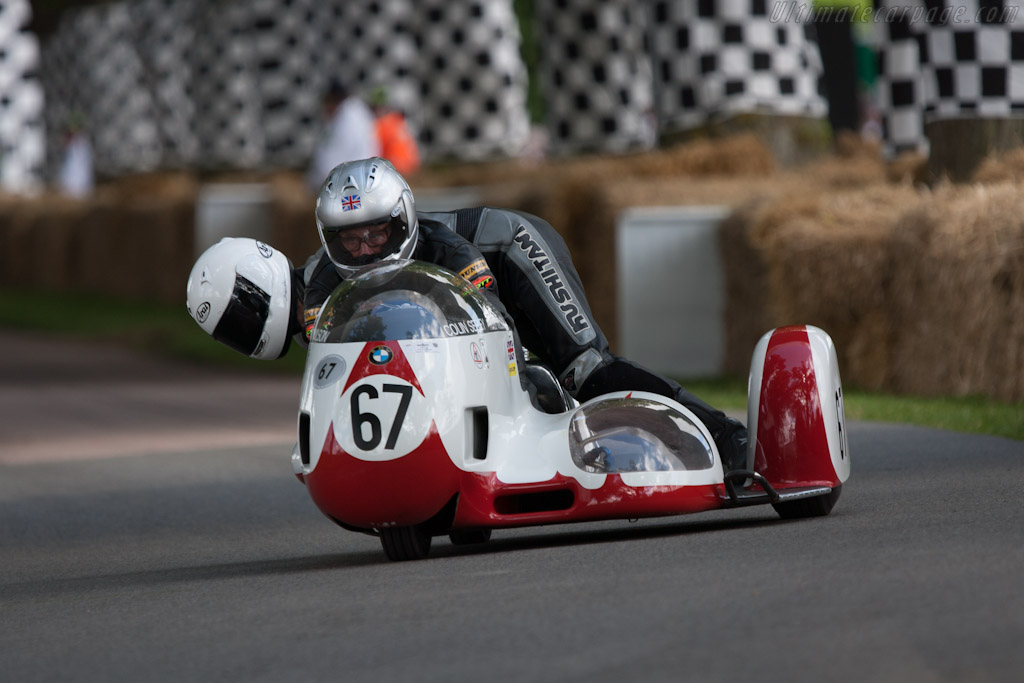 BMW Busch sidecar    - 2012 Goodwood Festival of Speed