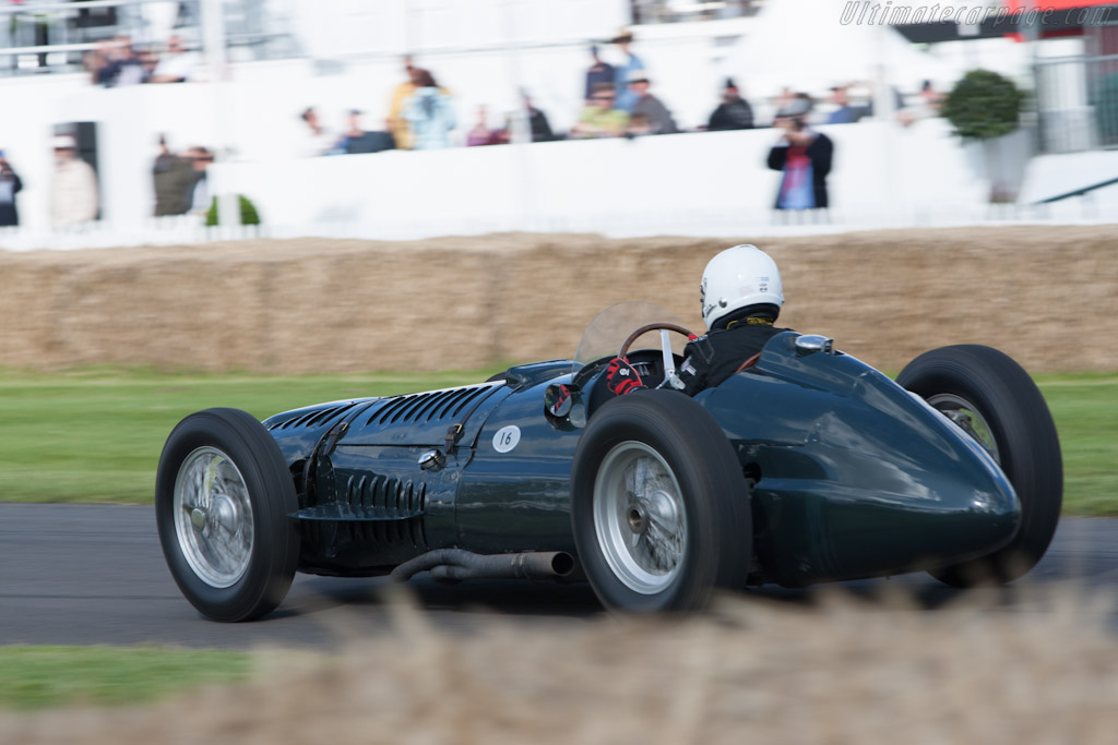 BRM P15 V16 - Chassis: Type 15 / 1   - 2012 Goodwood Festival of Speed