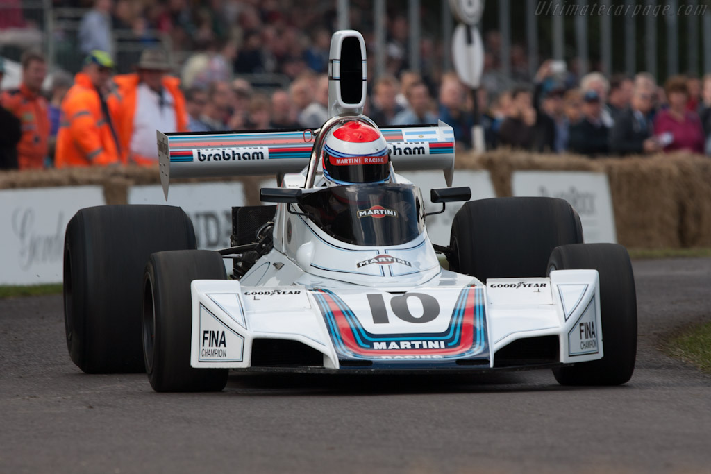 Brabham BT42 Cosworth - Chassis: BT42-3   - 2012 Goodwood Festival of Speed